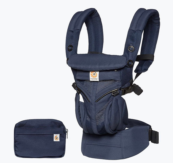 Ergobaby Omni 360 Baby Carrier All-In-One: Cool Air Mesh - Midnight Blue