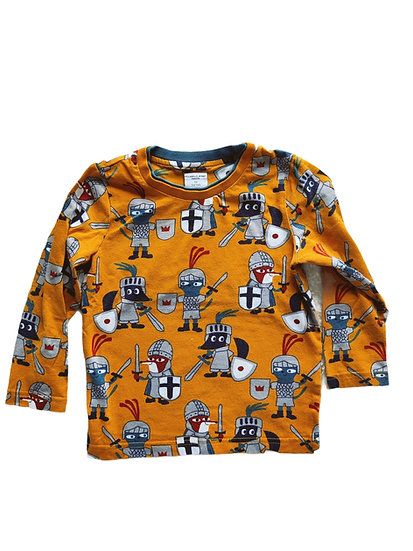 Polar O Pyret Mustard long sleeve t-shirt