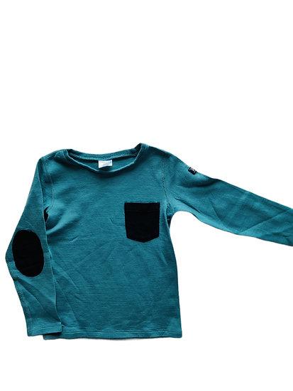 Polarn O Pyret Green long sleeve t-shirt