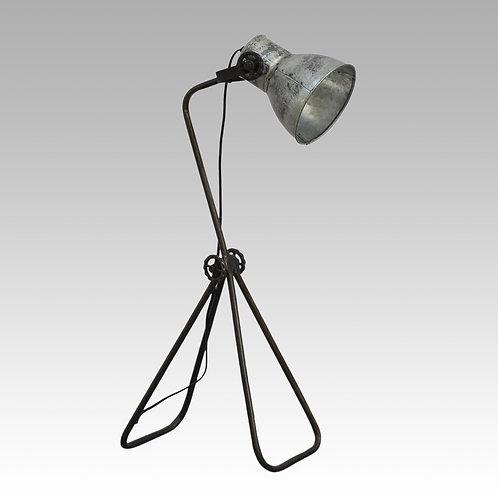 Industriële Bureaulamp Zilver