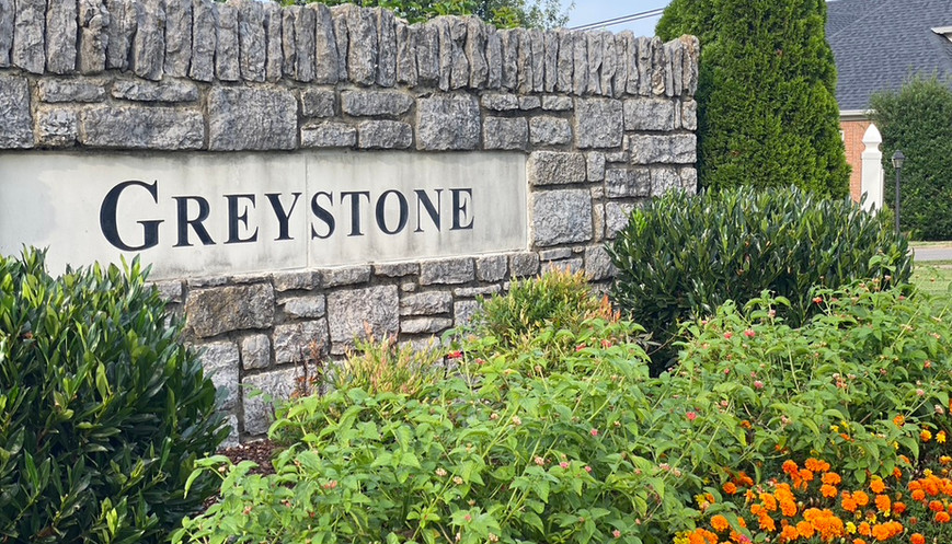 Greystone Entry Sign