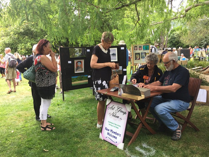 Art in the Park Exhibition 2021