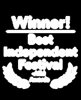 Winner of best indepentdant festival