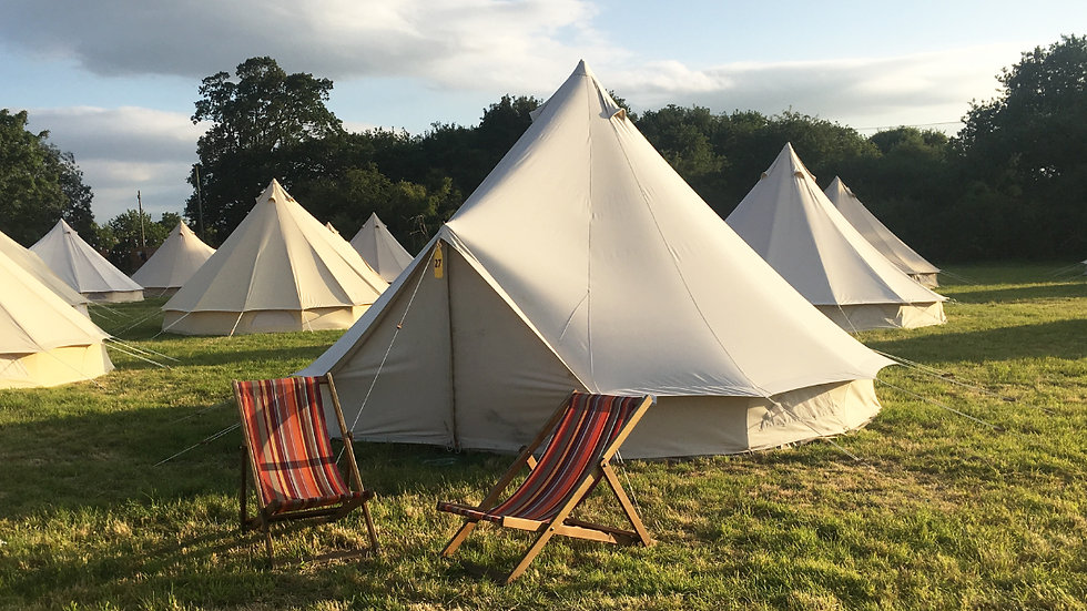 4 Person Bell Tent