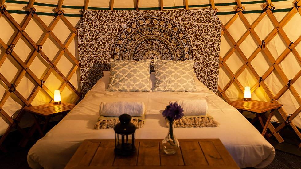 Furnished Yurt