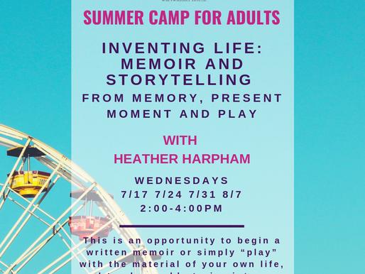 Meet the Teach: Heather Harpham, Instructor of Inventing Life: Memoir & Storytelling