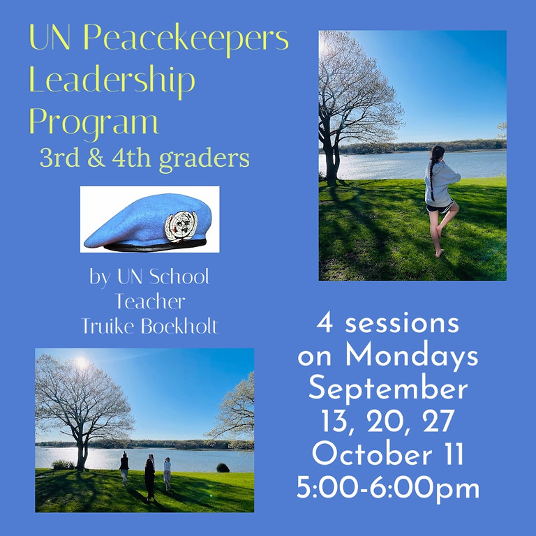 UN Peace Keepers Leadership Program 9/27