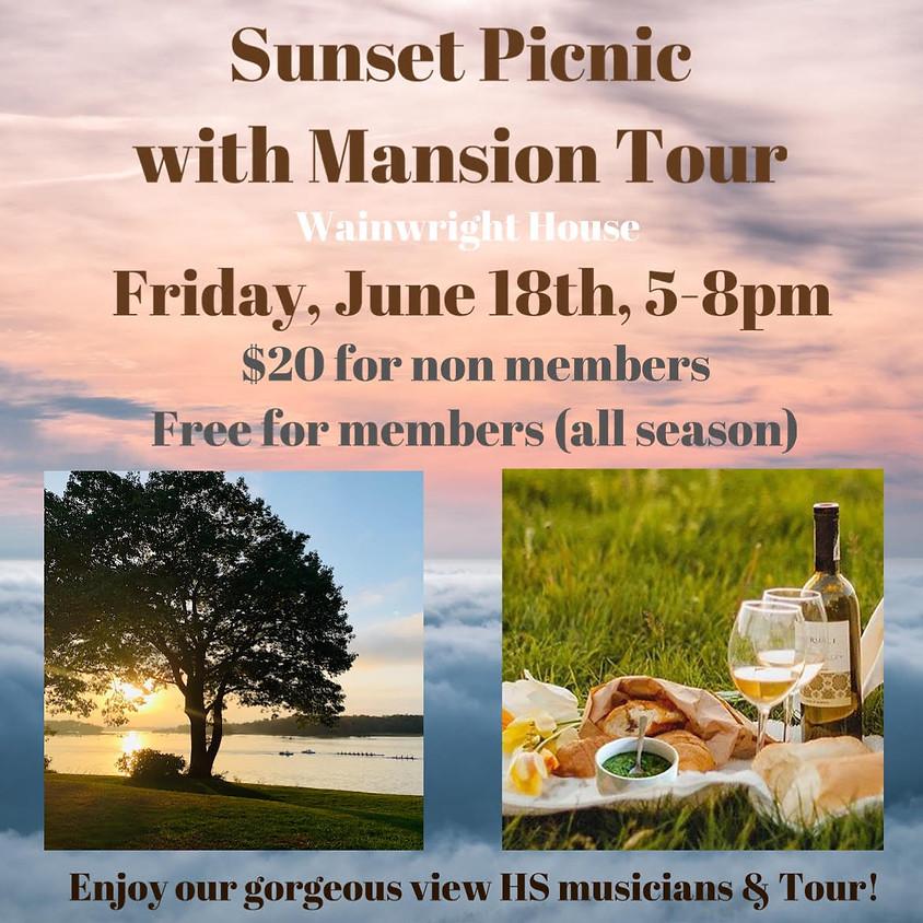 Sunset Picnic + Mansion Tour