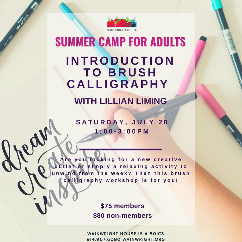 Introduction to Brush Calligraphy
