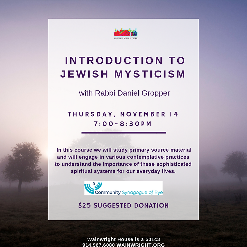 Introduction to Jewish Mysticism  (1)