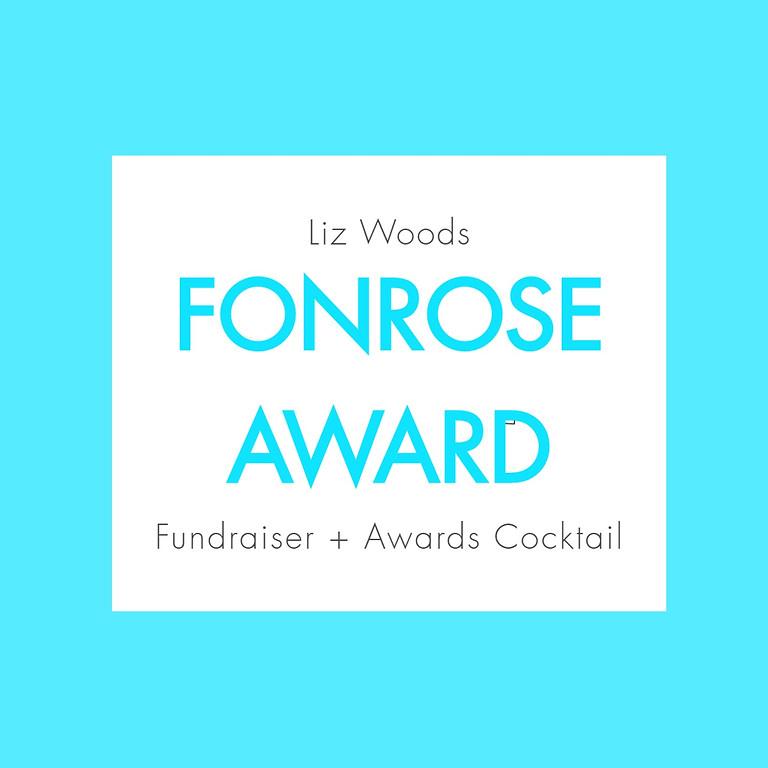Award Dedication + Fundraiser
