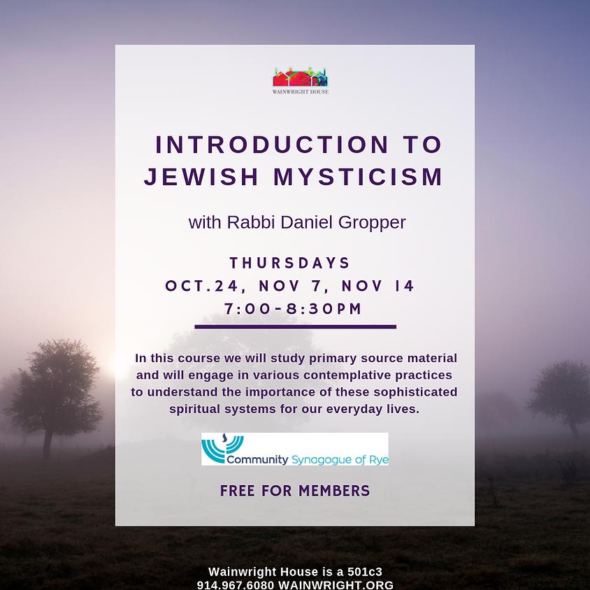 Introduction to Jewish Mysticism