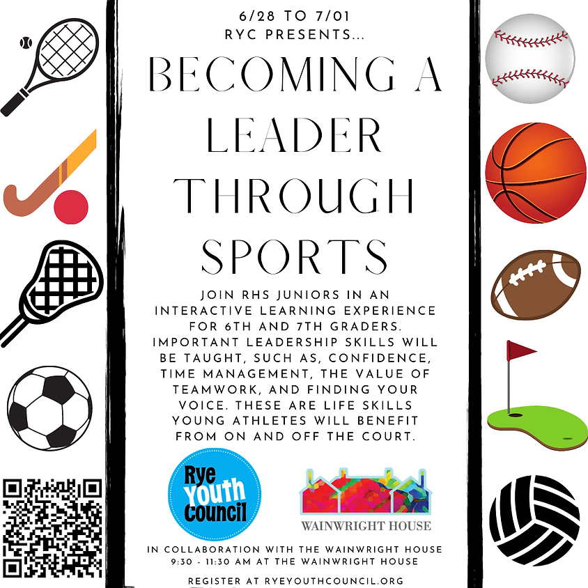 Becoming A Leader Through Sports Series