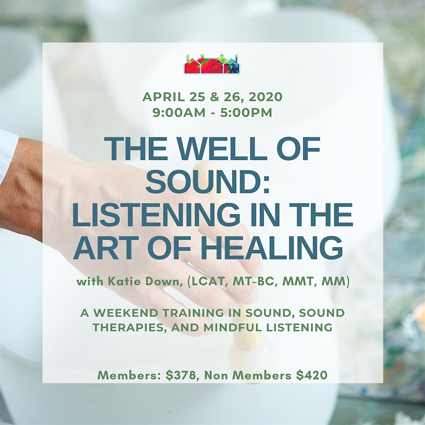 The Well of Sound: Listening in the Art of Healing with Katie Down