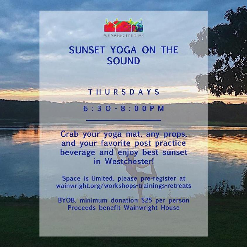 Sunset Yoga on the Sound 9/3