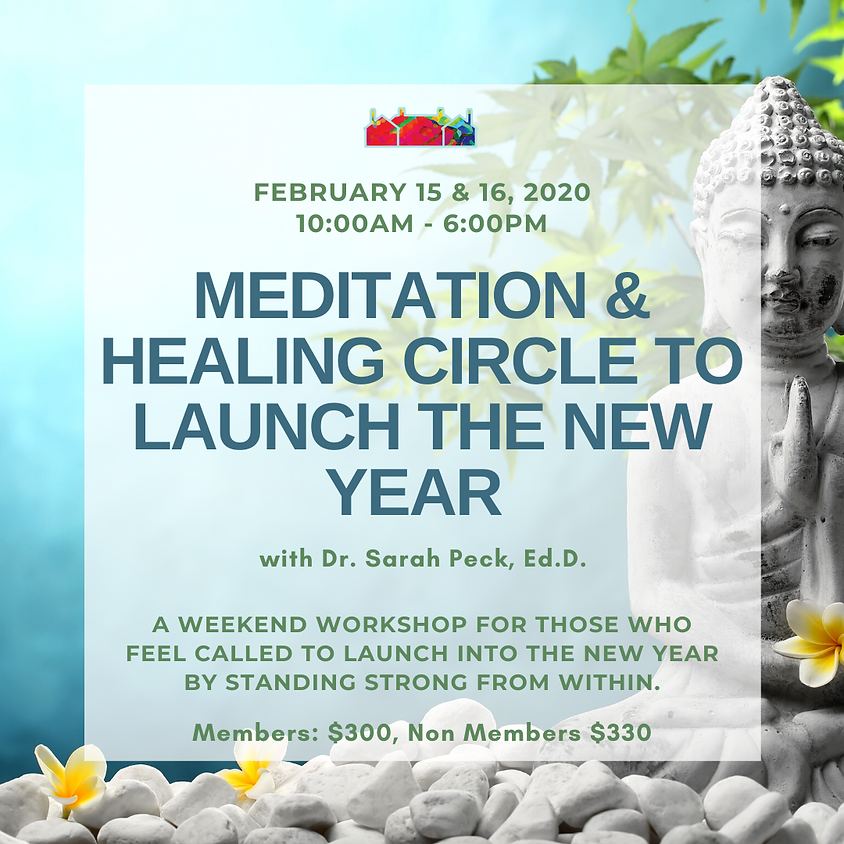 Meditation and Healing Circle to Launch the New Year