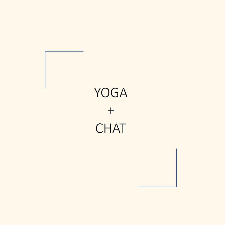 Yoga + Chat 10/23