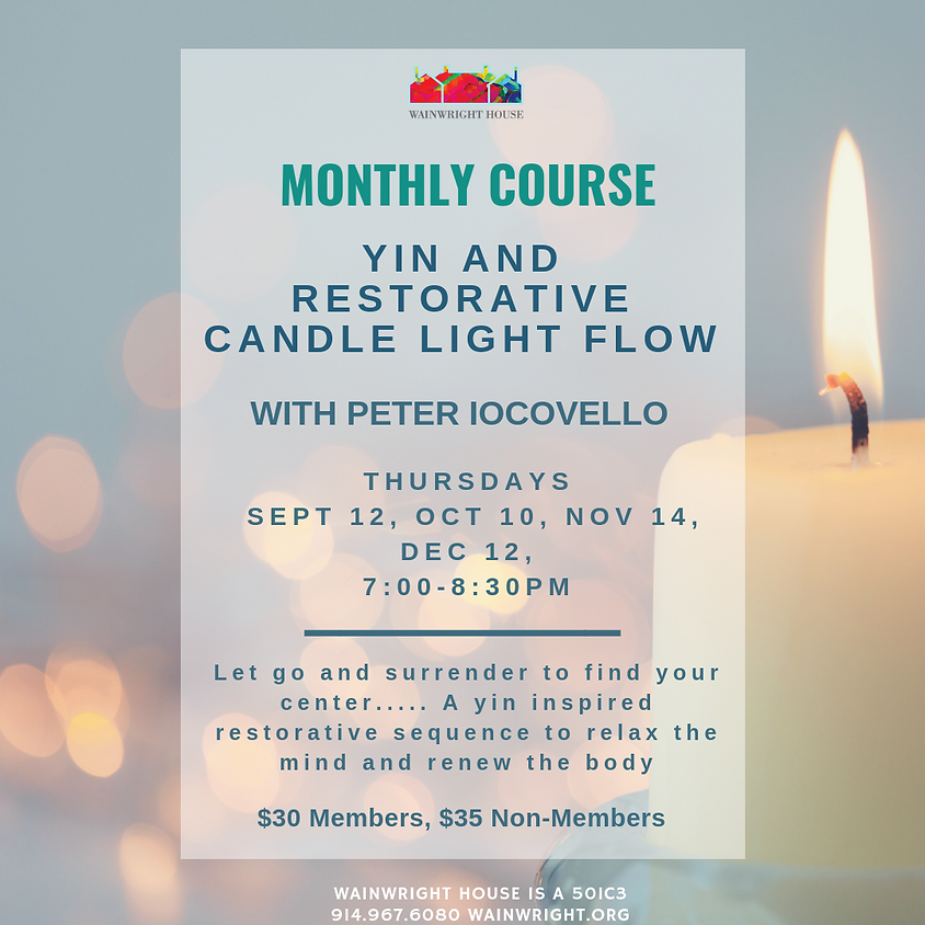 Yin and Restorative candle light flow
