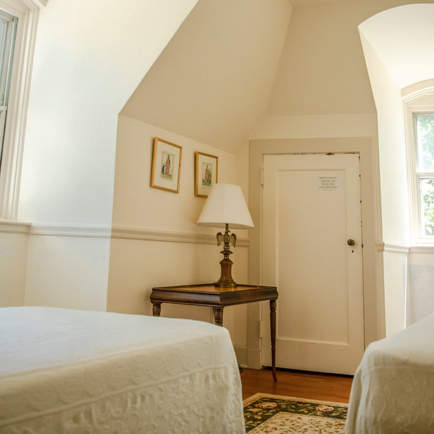 View of Carriage House bedroom