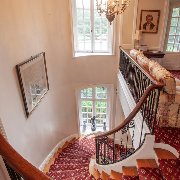 Spiral Staircase to the second floor