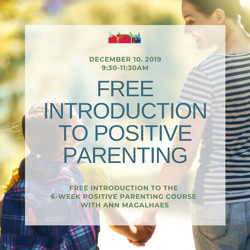 Free introduction to Positive Parenting