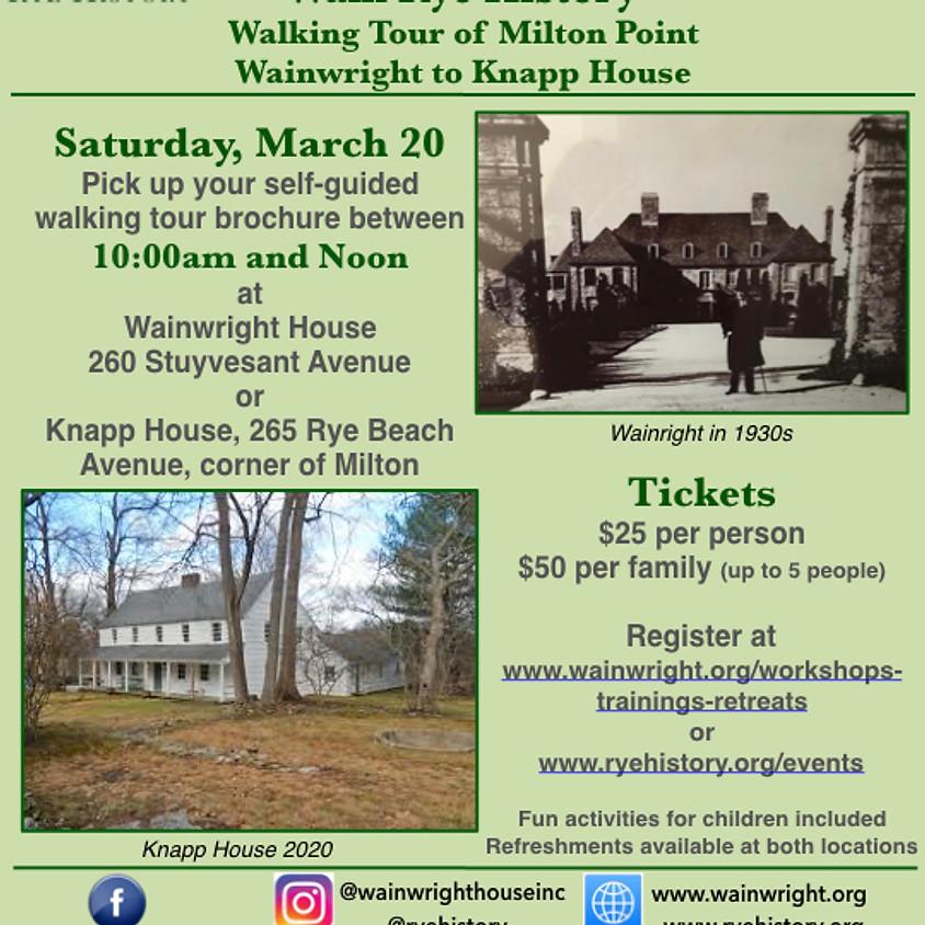Walk Rye History
