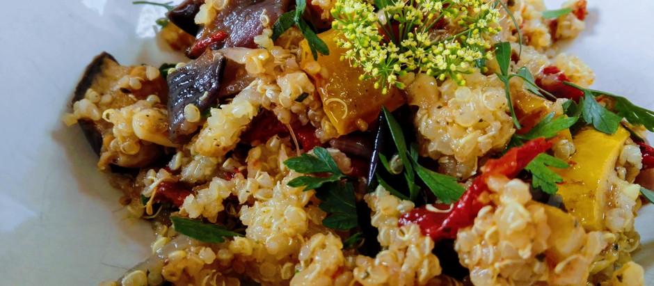 Pečená zelenina s quinoou