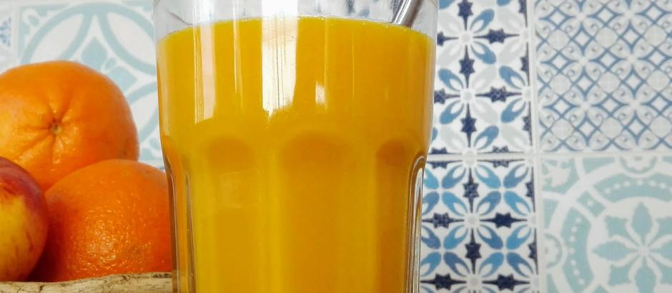 Oranžové smoothie