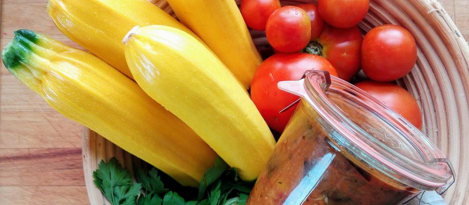 Omáčka z pečené zeleniny