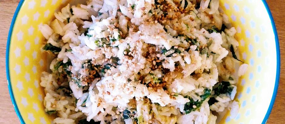 Rýže s mangoldem