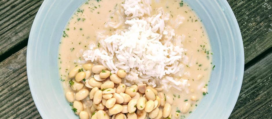 Sójové boby s miso omáčkou