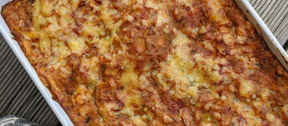 Boloňské lasagne s bešamelem