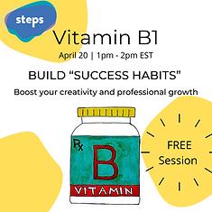 Vitamin B Webinar Series Instagram Story