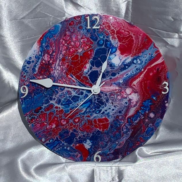 R.W.B Clock (SOLD)