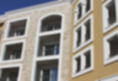 aluminijumske fasade Beograd, staklene fasade srbija, fasade, trespa, alukobond, staklene fasade, alubond, aluminijumska vrata, pvc stolarija, Lustica Bay