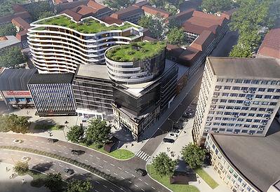 aluminijumske fasade Beograd, staklene fasade srbija, fasade, trespa, alukobond, staklene fasade, alubond, aluminijumska vrata, pvc stolarija, Pupinova Palata