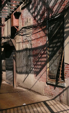 Brooklyn alley, Brooklyn NY, Jane Coffey