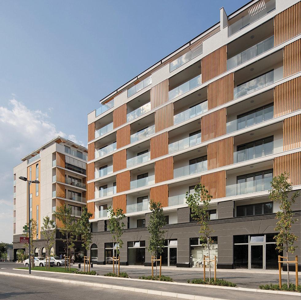aluminijumske fasade, alukobon, trespa, fasade, Beograd, Pupin palata, staklene fasade, aluminijumska vrata, pvc stolarija, West 65