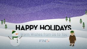 FNX Holiday Banner