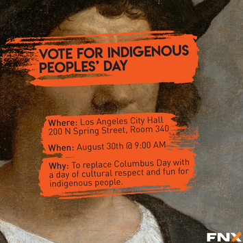 Indigenous Peoples Day Poster