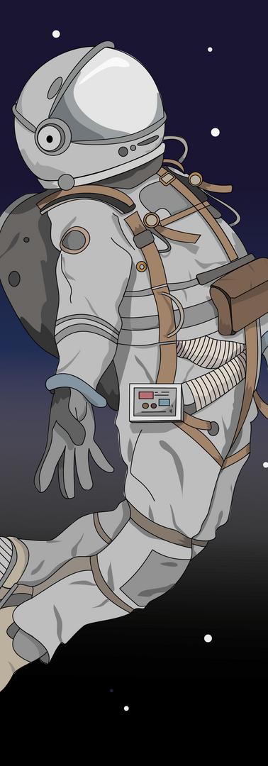 Astronaut Illusration