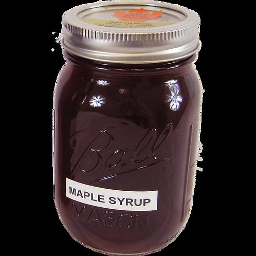 Maple Syrup Mason Jar - Pint