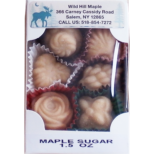 Maple Syrup Candy - Assorted Shapes (1.5 oz.)
