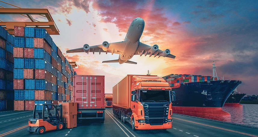 transportation image planes trucks ships