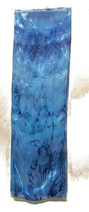 Sky Blue Palm Fronds