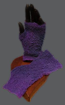 Purple Rose Arm Sox