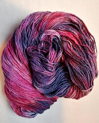 Rose Gray Silk Yarn