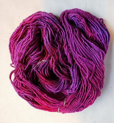 Magenta Rose SIlk Yarn