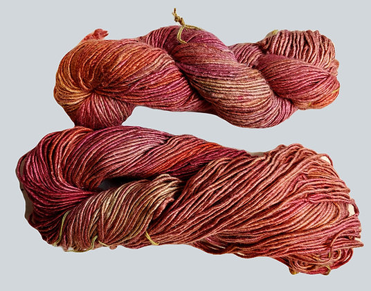 2 Soft Peachy Silk Yarn