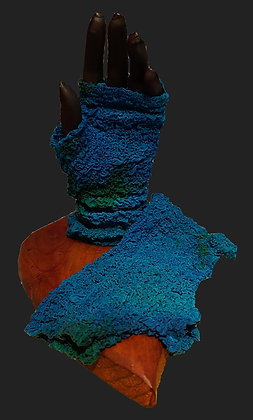 Teal Blue Green Arm Sox